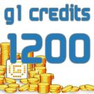 G1 Credits 1200
